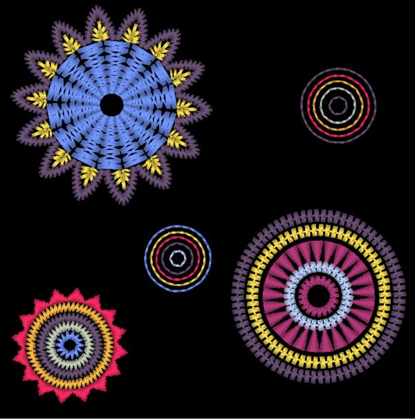 Stickdatei – Mandala Set