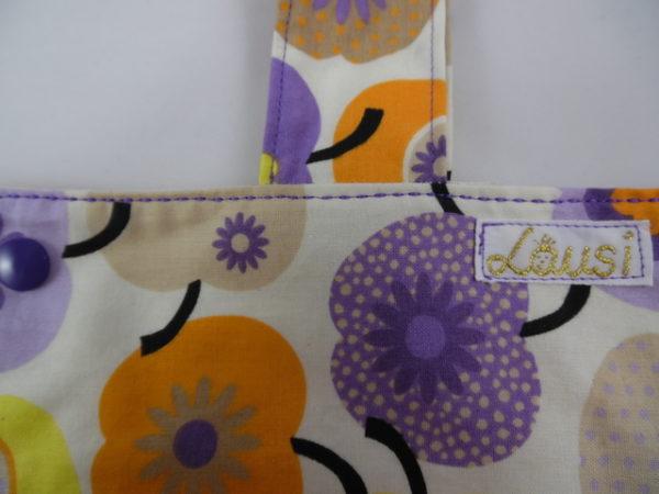 "Tasche ""Elenor""- Apfel, lila"