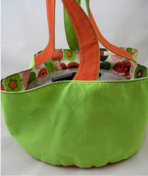"""Kuchentasche """"Molly"""" – Apfel, grün"""