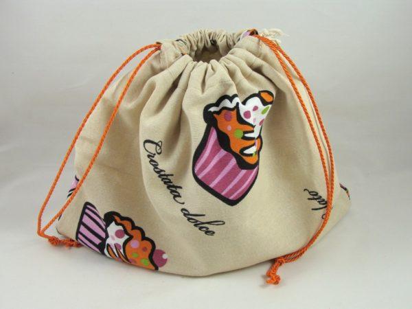 Brotbeutel Muffin – Kaffeetasse
